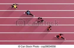 Olympic Games clipart track and field