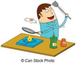 Omelette clipart cartoon