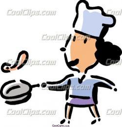 Omelette clipart chef