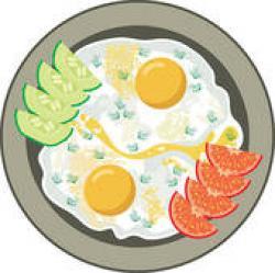 Omelette clipart omelet