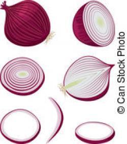 Onion clipart sliced onion