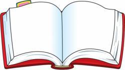 Bobook clipart open book