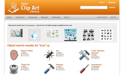 Open clipart source information
