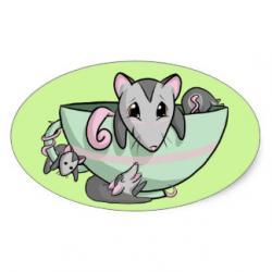 Possum clipart pocket