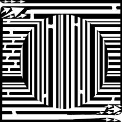 Optical Illusion clipart maze