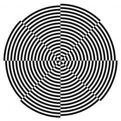 Optical Illusion clipart weird color