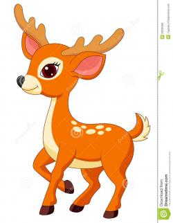 Dear clipart cute deer