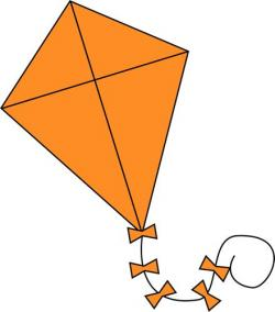 Kite clipart silhouette