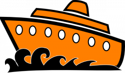 Cruise clipart outline