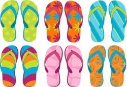 Sandal clipart summer