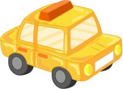 Taxi clipart toy