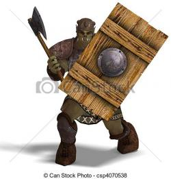 Orc clipart barbarian