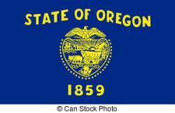 Oregon clipart Oregon Flag Clipart