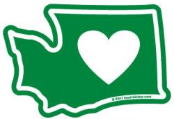 Oregon clipart Oregon Outline With Heart