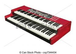Organs clipart electric piano