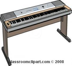 Organs clipart keyboard instrument