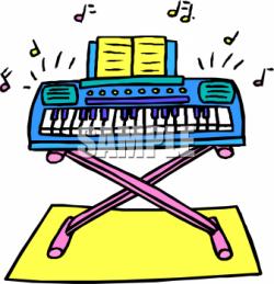 Organs clipart musical instrument