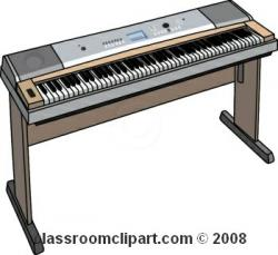 Keyboard clipart electric piano
