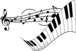Sheet Music clipart piano recital