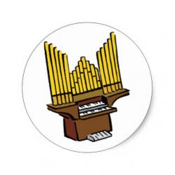 Organs clipart pipe organ