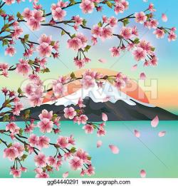 Cherry Blossom clipart japanese culture