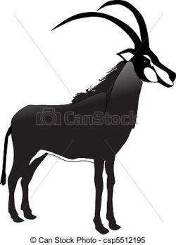 Oryx clipart springbok