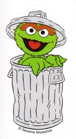 Oscar The Grouch clipart
