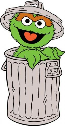 Oscar The Grouch clipart cartoon