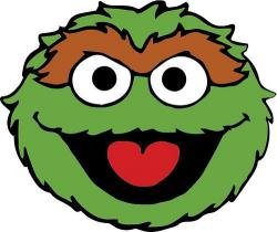 Oscar The Grouch clipart head