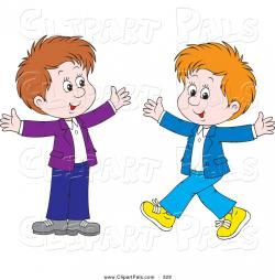 Little Boy clipart friendly