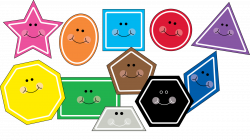 Hexagon clipart cute