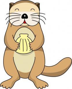 Sea Otter clipart stingray
