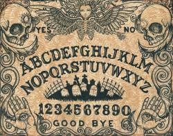 Ouija Board clipart creepy