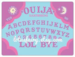 Ouija Board clipart pastel goth