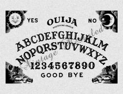Ouija Board clipart vintage
