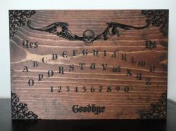 Ouija Board clipart wood
