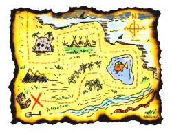 Safari clipart adventure map