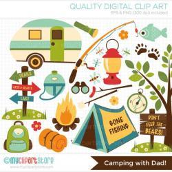 Camper clipart exploration
