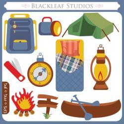 Camper clipart adventurer