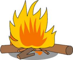 Outdoor clipart campfire