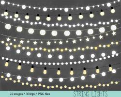 Holydays clipart string light