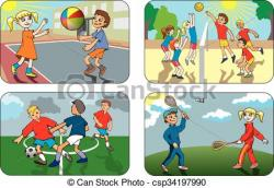 Outdoor clipart outdoor game