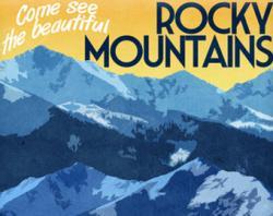 Outdoor clipart rocky mountain