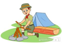 Camp clipart tour