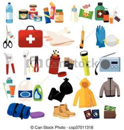 Medical clipart survival kit