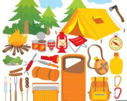 Camp Fire clipart camping equipment