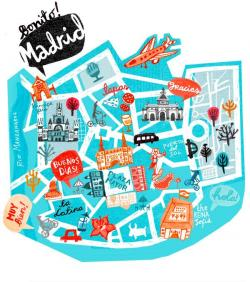 Map clipart tourist guide