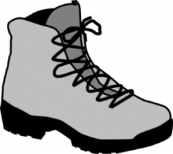 Outdoor clipart walking boot