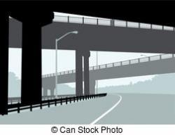 Highway clipart overpass