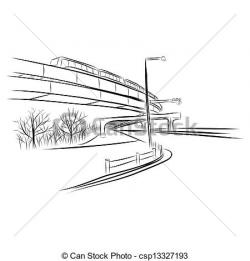 Overpass clipart flyover